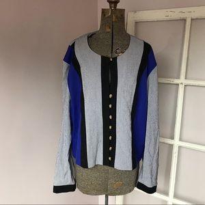 Vintage Perceptions button down blouse